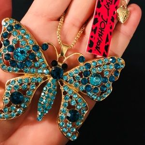 BETSEY JOHNSON~ XLarge BUTTERFLY